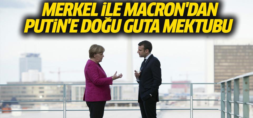 Merkel ile Macron'dan Putin'e Doğu Guta mektubu