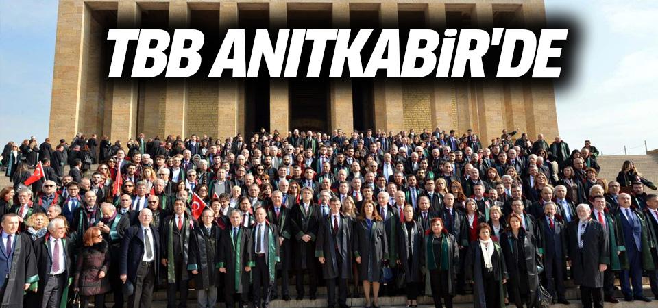 Türkiye Barolar Birliği Anıtkabir'e çıktı