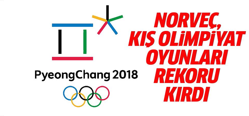 Norveç, kış olimpiyat oyunları rekoru kırdı