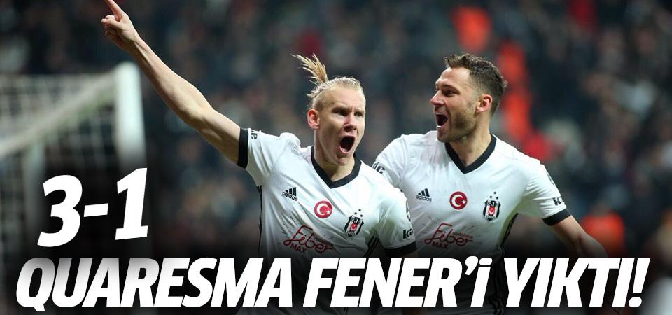 Quaresma Fenerbahçe'yi yıktı! 3-1