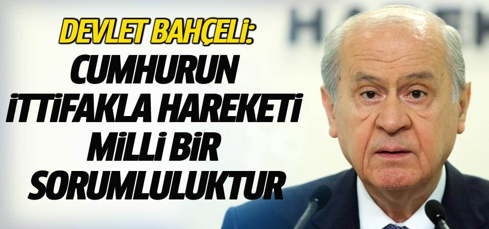 MHP Genel Başkanı Bahçeli: Hocalı'da insanlığın gözü önünde soykırım suçu işlenmiştir