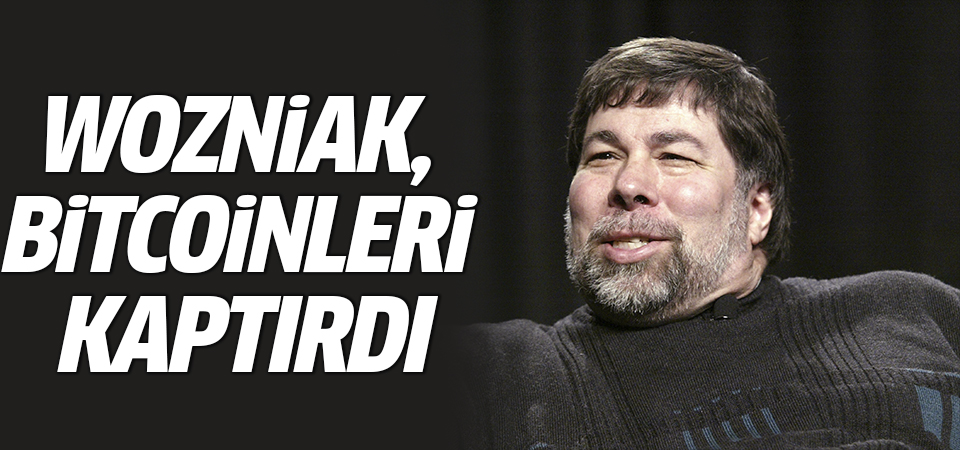 Apple kurucusu Wozniak, Bitcoinleri kaptırdı