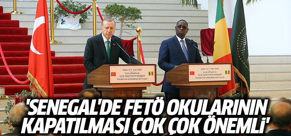 Erdoğan: Senegal Türkiye'nin kara gün dostu olduğunu 15 Temmuz'da ispat etti