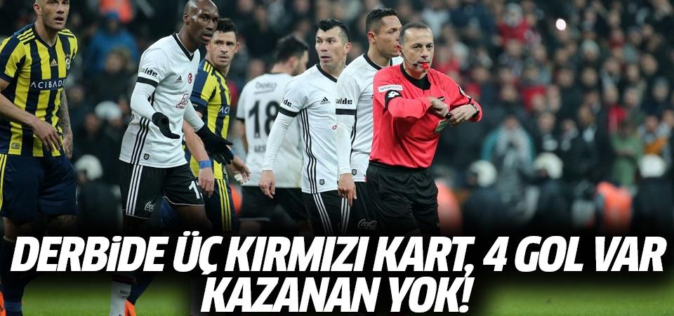 Beşiktaş-Fenerbahçe maçı golleri ve geniş özeti