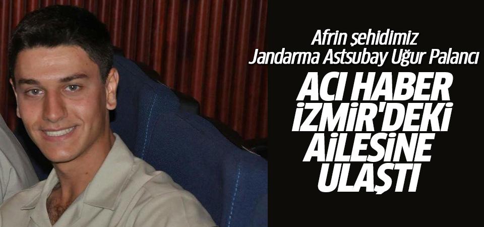 Afrin şehidinin acı haberi İzmir'deki ailesine verildi