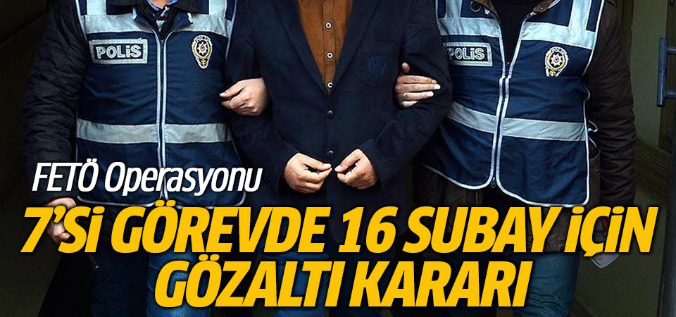 Deniz Kuvvetleri Komutanlığı'nda FETÖ operasyonu: 16 gözaltı kararı