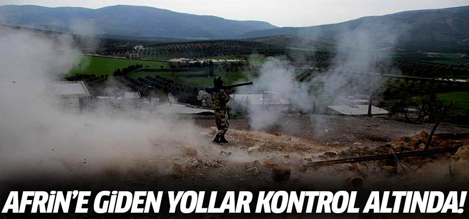 TSK açıkladı: Afrin'e giden yollar kontrol altında