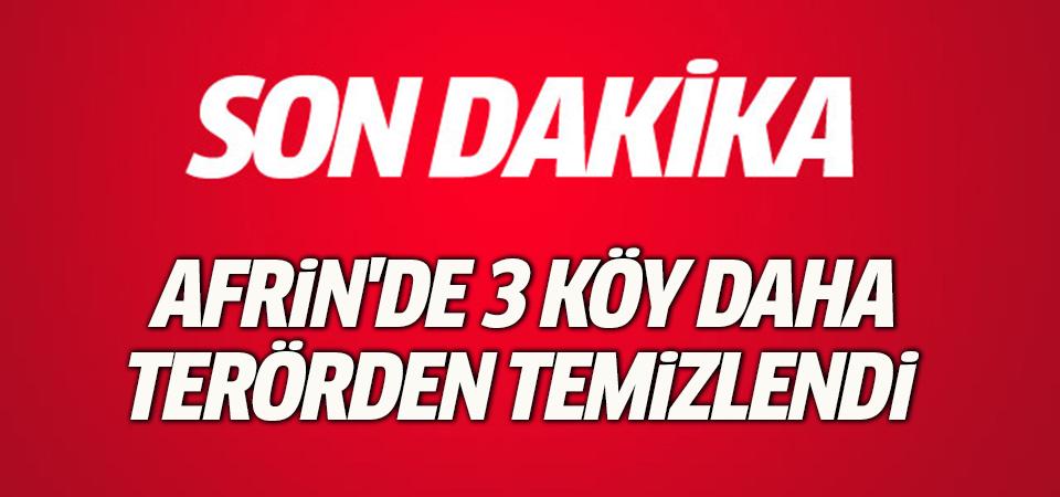 TSK ve ÖSO Şeran belde merkezini YPG/PKK'dan kurtardı