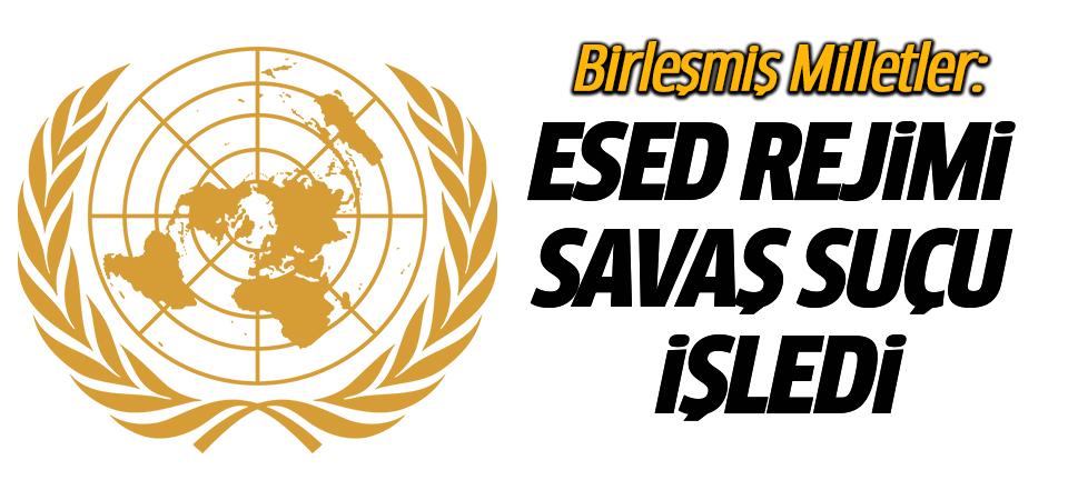 BM: Esed rejimi Doğu Guta'da savaş suçu işliyor
