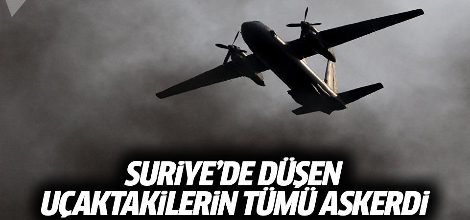 Rusya Savunma Bakanlığı: Suriye'de düşen uçaktakilerin tümü askerdi