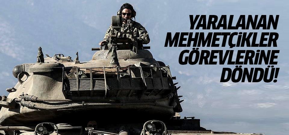 TSK açıkladı: Yaralanan Mehmetçikler görevlerine döndü