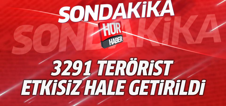 TSK'dan Afrin açıklaması: 3291 terörist etkisiz hale getirildi