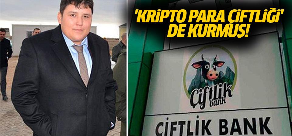 Sırra kadem basan Çiftlik Bank'ın kurucusu, 'kripto para çiftliği' de kurmuş