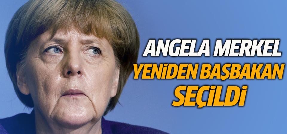 Angela Merkel yeniden başbakan seçildi