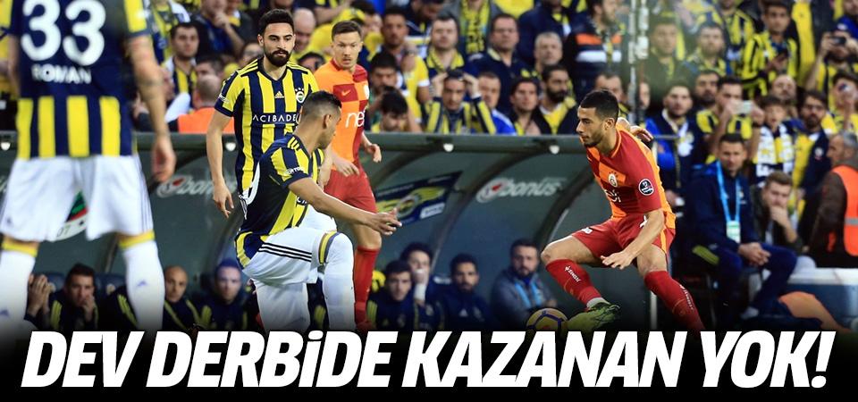 Kadıköy'de gülen çıkmadı! 0-0