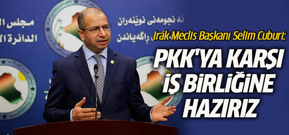 Irak'tan Türkiye açıklaması: PKK'ya karşı iş birliğine hazırız