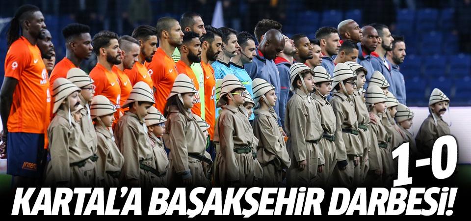 Başakşehir, Beşiktaş'ı yendi! 1-0