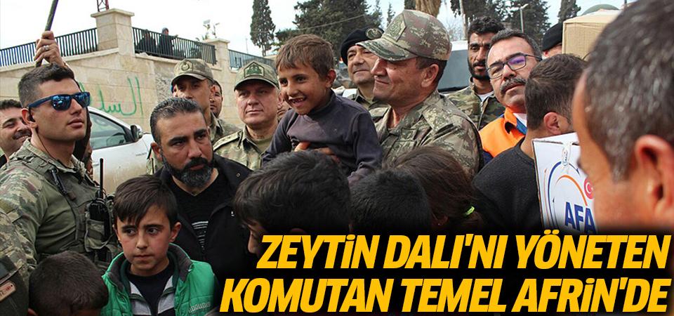 Zeytin Dalı'nı yöneten Korgeneral İsmail Metin Temel, Afrin'de