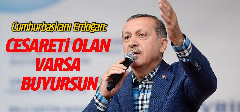 Erdoğan ABD sözcülerine çok sert çıktı
