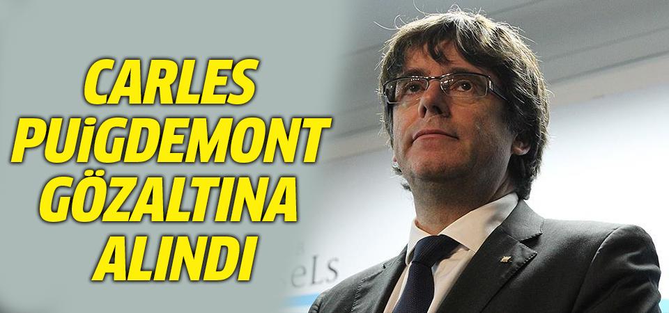 Katalan lider Puigdemont Almanya'da gözaltına alındı