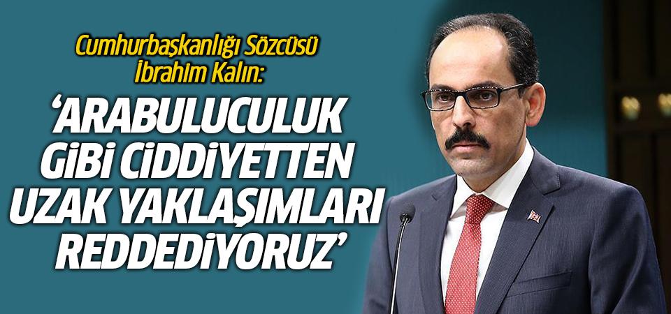 Türkiye'den Macron'a ilk tepki İbrahim Kalın'dan geldi