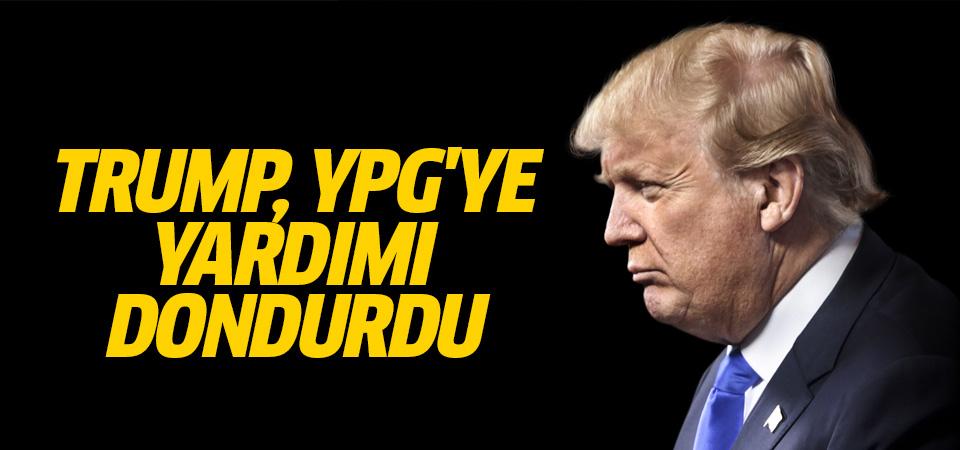 Trump, YPG kontrolündeki bölgelere ayrılan yardımı dondurdu