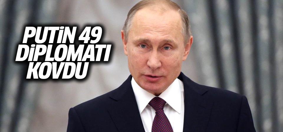 Rusya 49 diplomatı kovdu