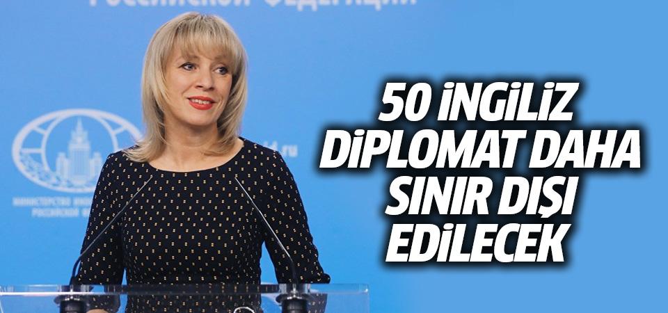 Rusya: 50 İngiliz diplomat daha sınır dışı edilecek