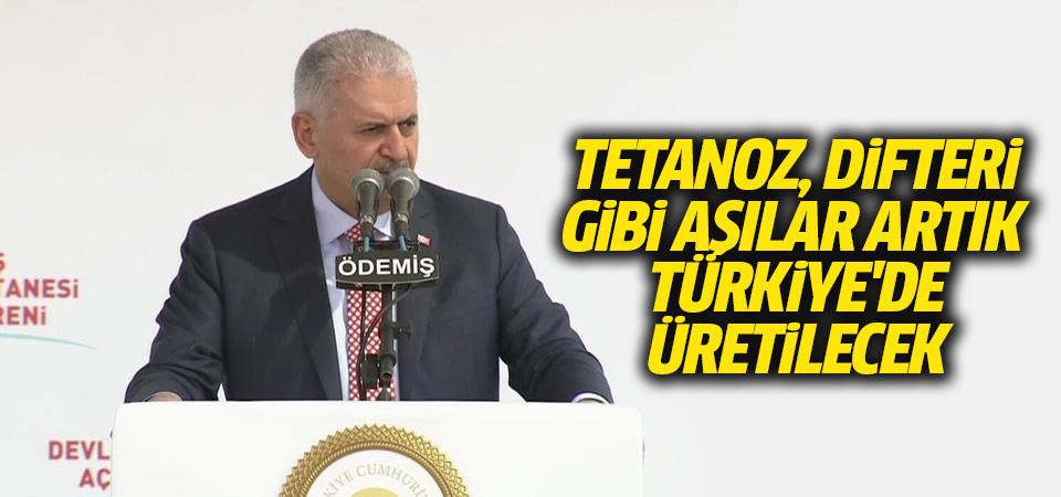 Yıldırım: Tetanoz, difteri gibi aşılar artık Türkiye'de üretilecek
