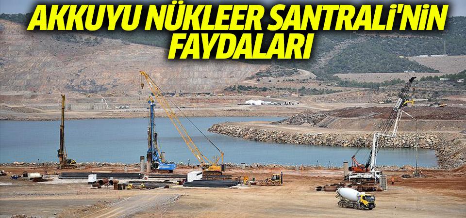Akkuyu Nükleer Santrali'nin faydaları