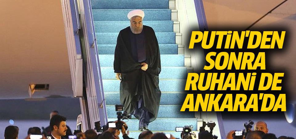 Hasan Ruhani Ankara'da