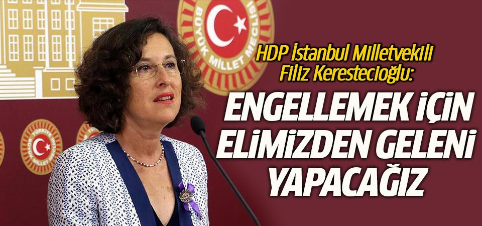 HDP'de Nükleer Santrale karşı çıktı