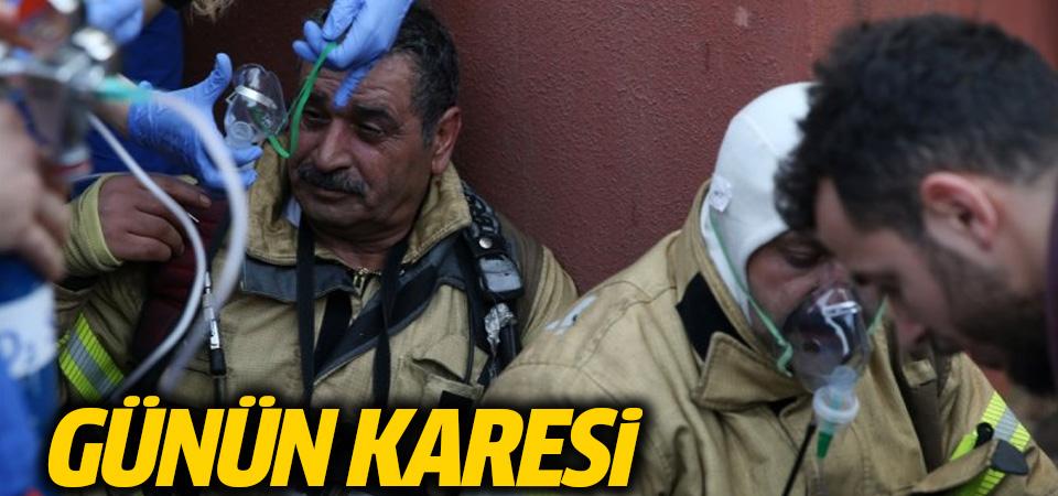 İstanbul'daki hastanede büyük yangın