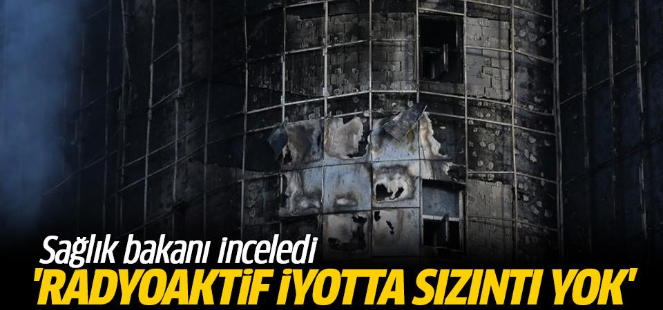 Taksim'de radyoaktif iyot sızıntısı yok
