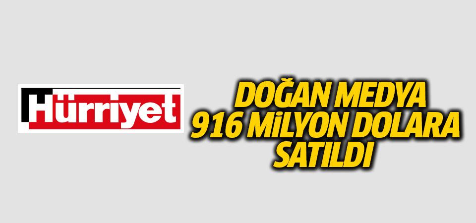 Resmen açıklandı: Doğan Medya 916 milyon dolara satıldı