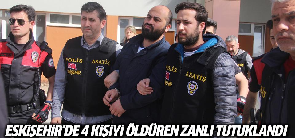Eskişehir Osmangazi Üniversitesi'nde 4 kişiyi öldüren Bayar tutuklandı