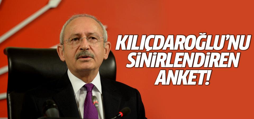 Kemal Kılıçdaroğlu'nu sinirlendiren anket!