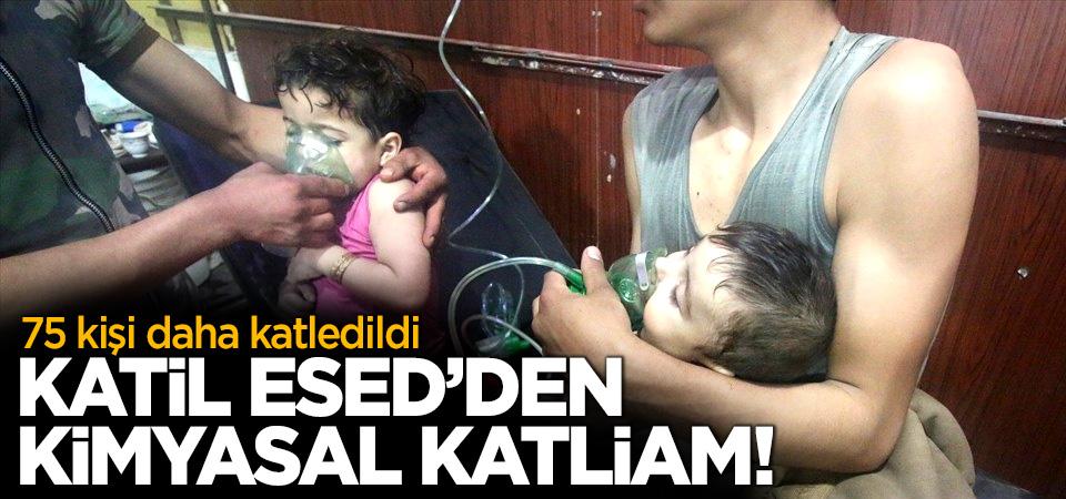 Katil Esed'den Doğu Guta'da kimyasal katliam: 75 ölü! Bilanço artıyor