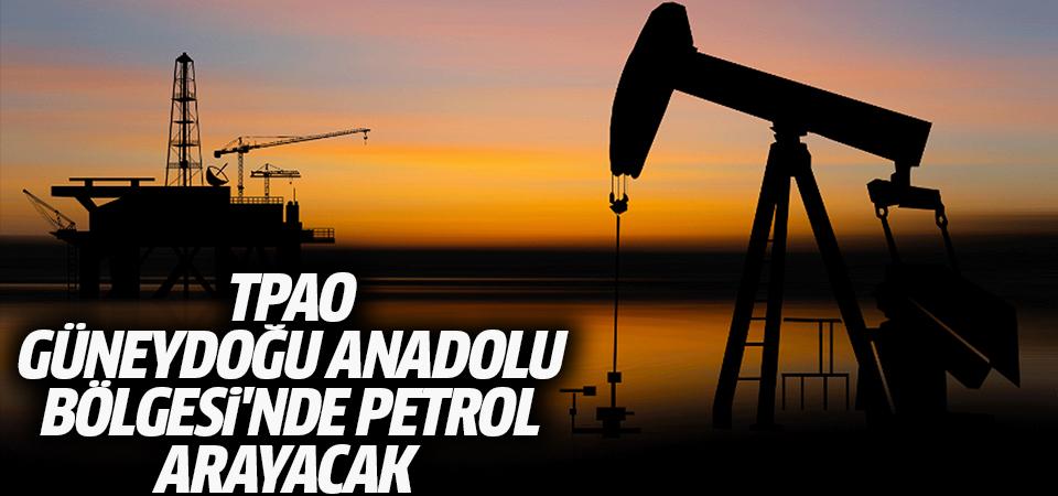 TPAO, Güneydoğu Anadolu Bölgesi'nde petrol arayacak