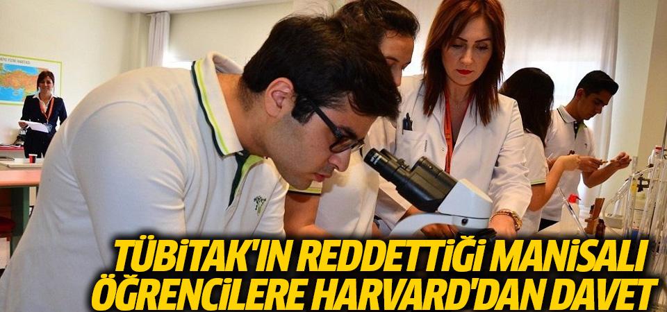 TÜBİTAK'ın reddettiği Manisalı öğrencilere Harvard'dan davet