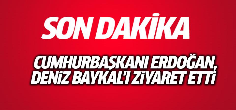Erdoğan Deniz Baykal'ı ziyaret etti