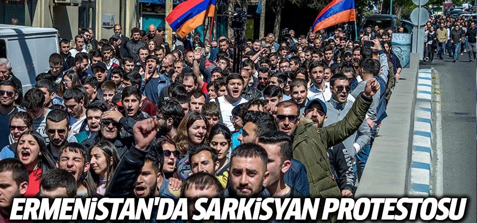 Ermenistan'da polis Sarkisyan karşıtı protestoculara müdahale etti