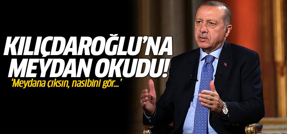 Erdoğan Kılıçdaroğlu'na meydan okudu: Aday ol!