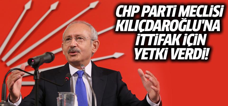 CHP Parti Meclisi, Kılıçdaroğlu'na ittifak için yetki verdi