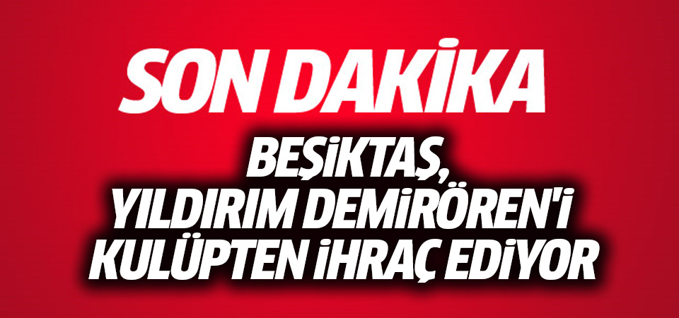 Beşiktaş Yıldırım Demirören'i kulüpten ihraç ediyor