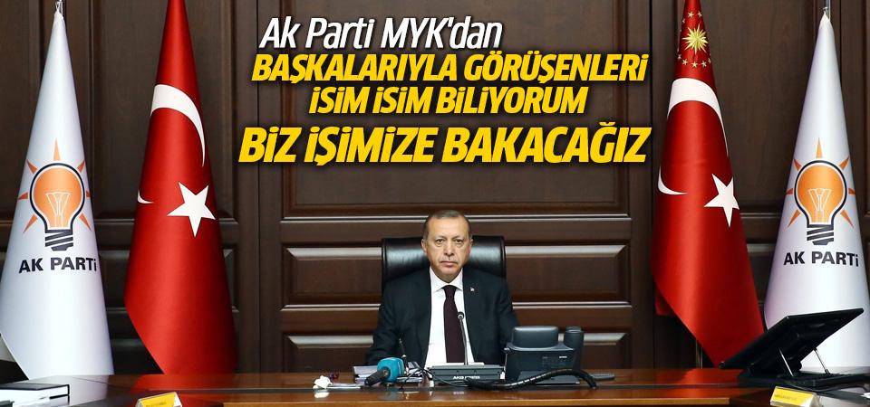 Cumhurbaşkanı Erdoğan'dan kurmaylarına uyarılar