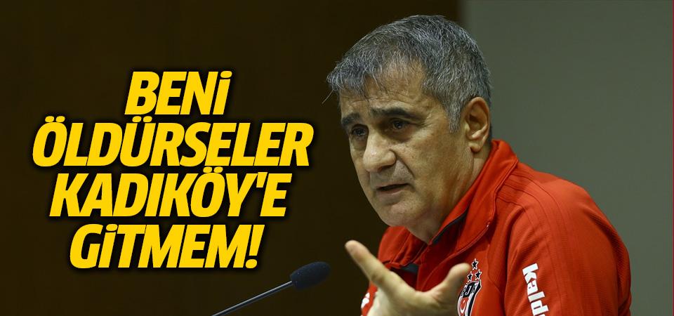 Beşiktaş'ın maçtan çekilme kararında Şenol Güneş etkisi
