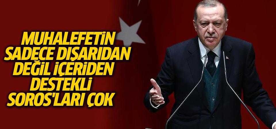 Cumhurbaşkanı Erdoğan İl Başkanları Toplantısı'nda