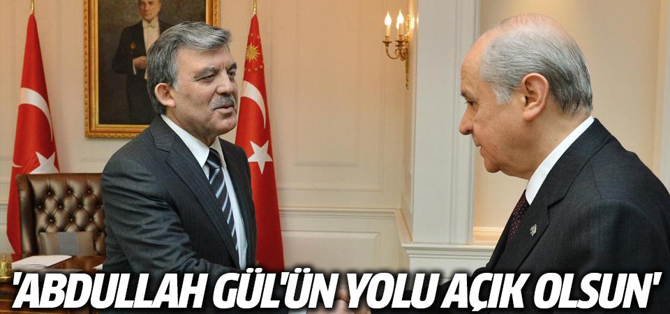Bahçeli'den Abdullah Gül açıklaması