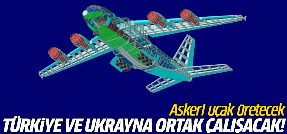 Türkiye ve Ukrayna ortak çalışacak! Askeri uçak üretecek